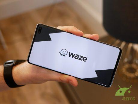 Logo waze 2019