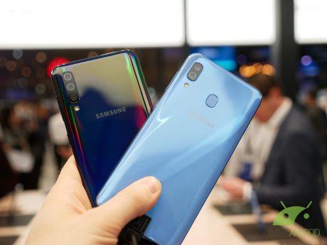 Samsung galaxy a30 a50 anteprima mwc