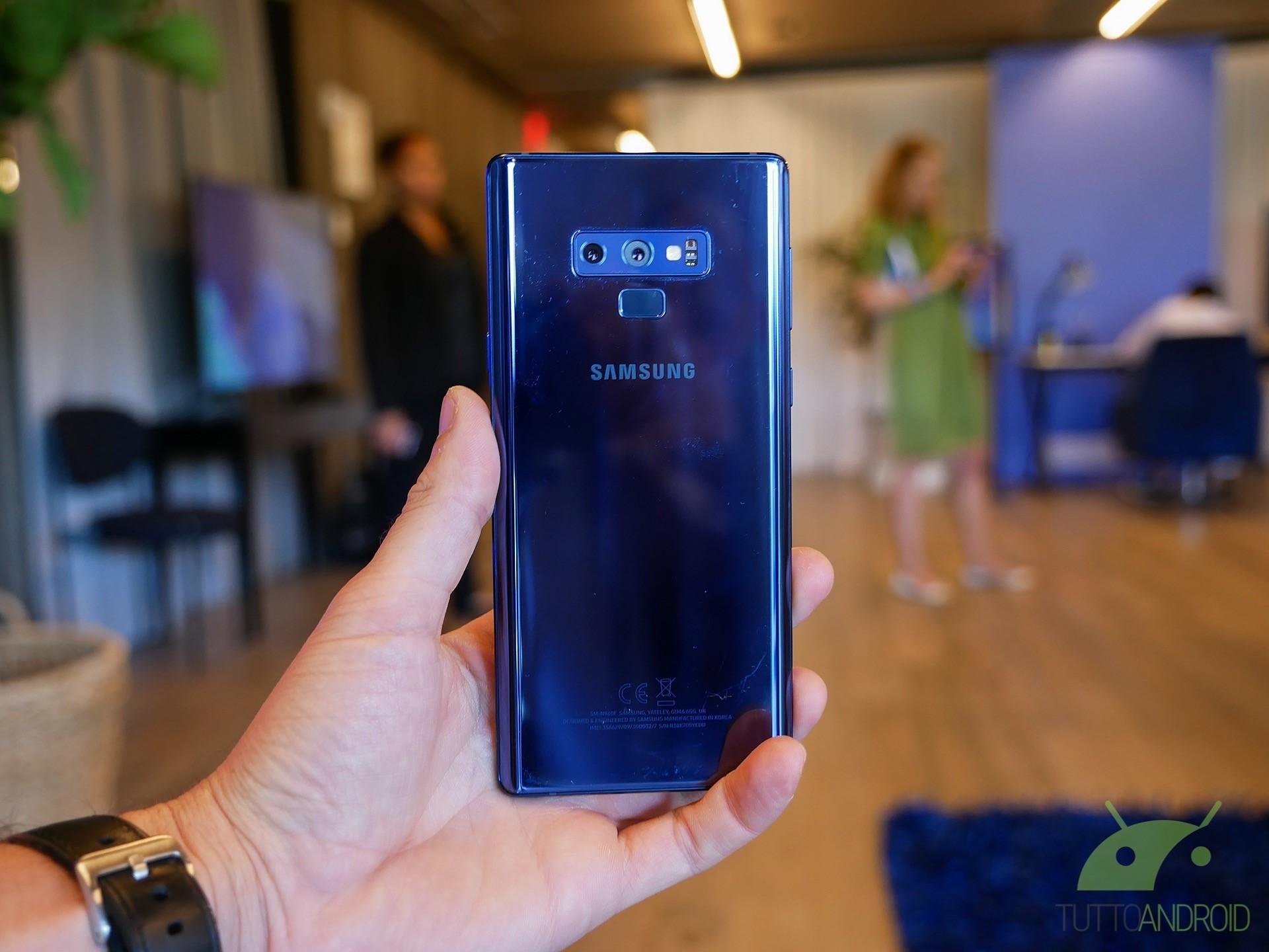 Samsung Galaxy Note 9 Disponibili Al Download Gli Sfondi Ufficiali