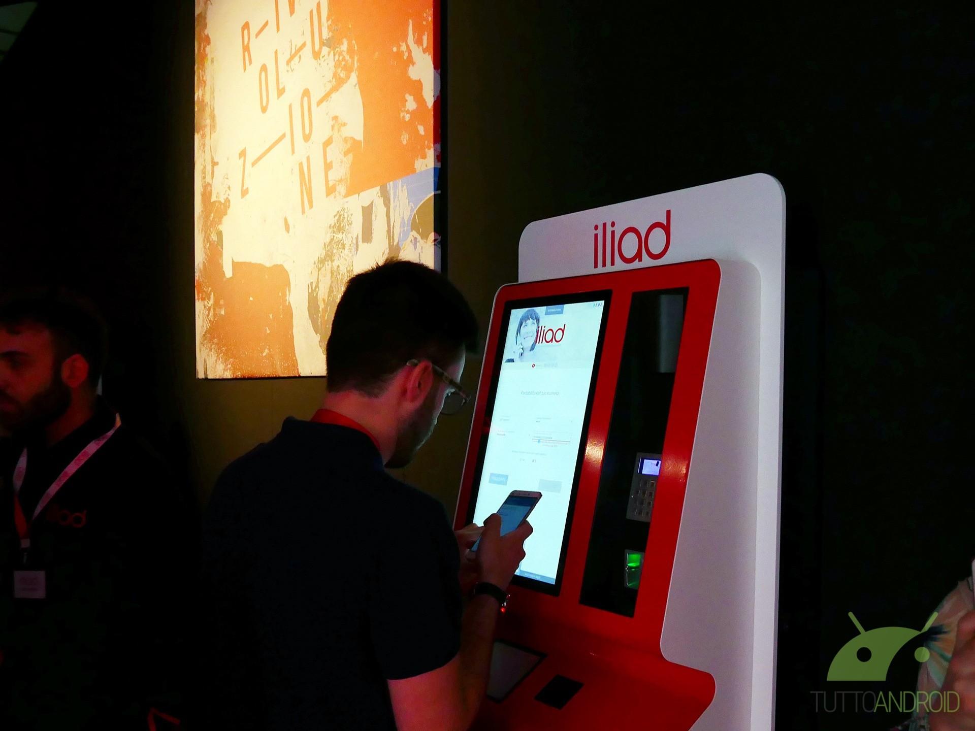 Iliad ha installato molte nuove Simbox da Unieuro, Esselunga