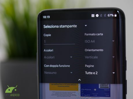 Stampa android