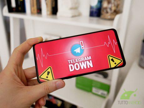 Telegram down non funziona malfunzionamento