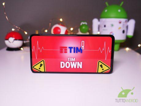 Tim down non funziona malfunzionamento