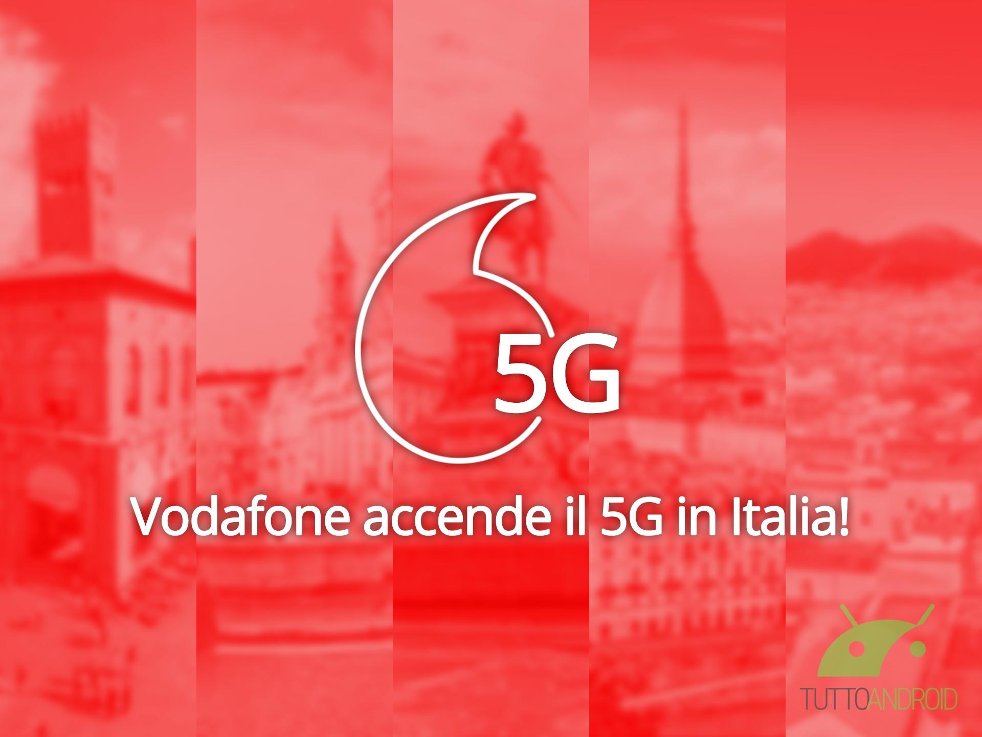 Il 5G di Vodafone è attivo in Italia da oggi: ecco le offerte e gli smartphone compatibili