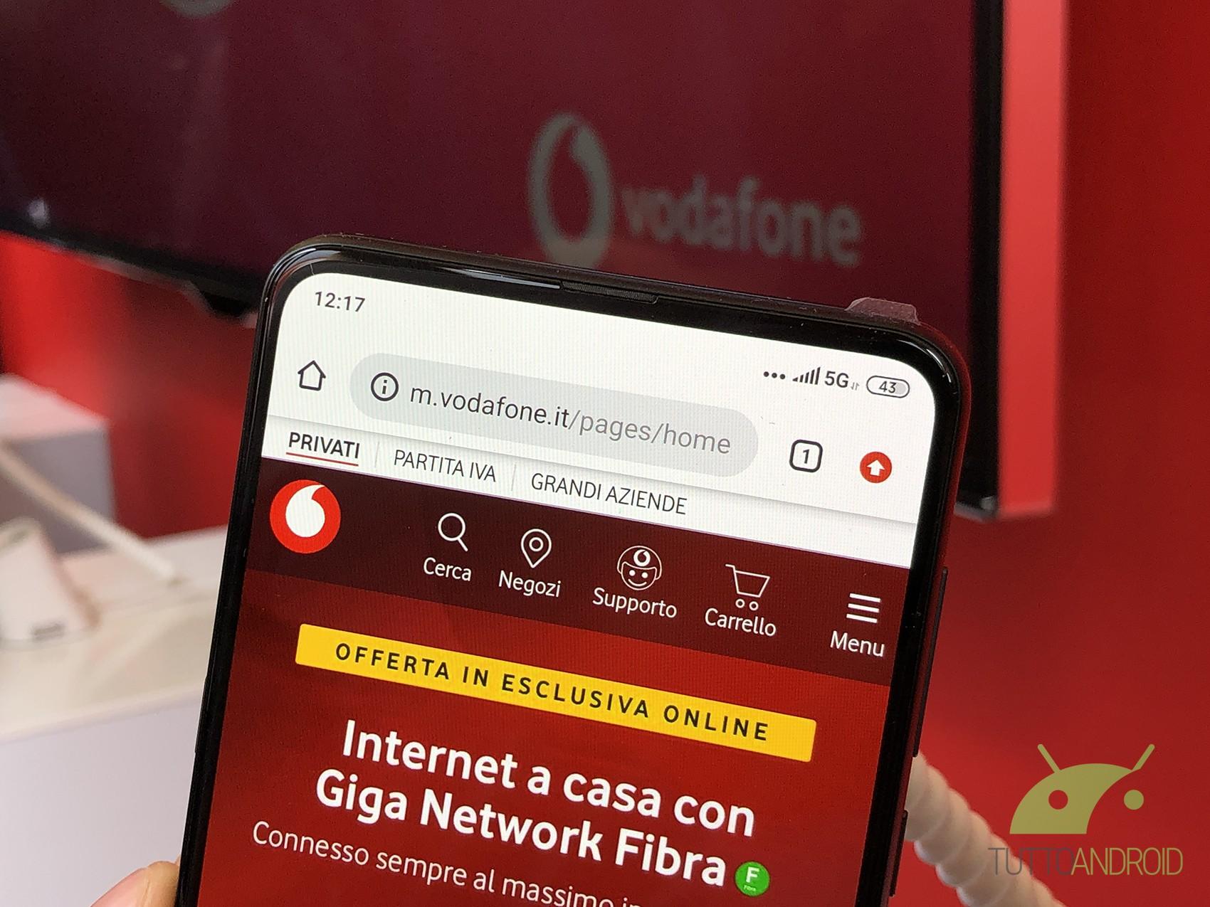 Vodafone Giga Family Christmas è in promozione negli Store d