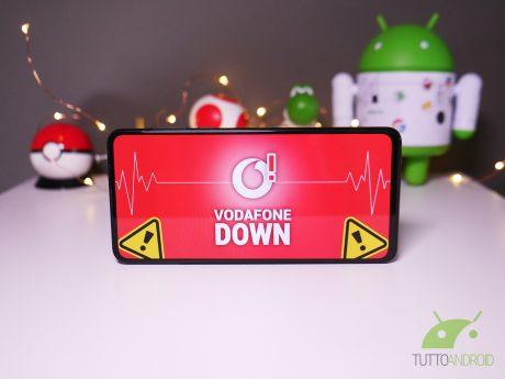 Vodafone down non funziona malfunzionamento