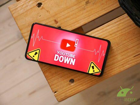 Youtube down non funziona malfunzionamento