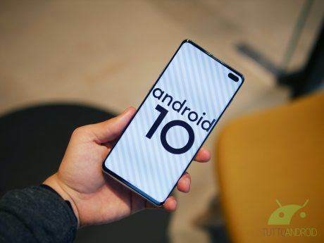 Samsung Galaxy S10+ Android 10