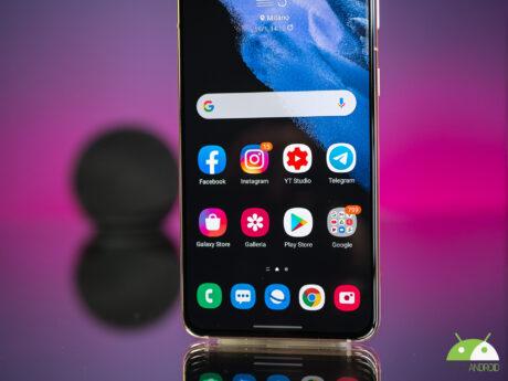 Samsung galaxy s21 focu display