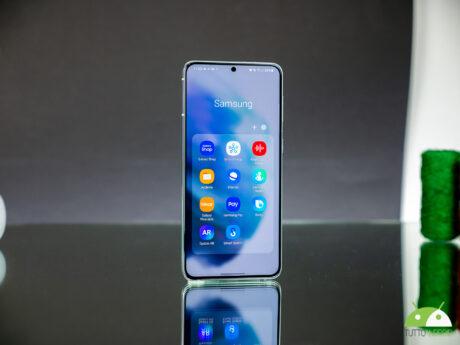 Samsung galaxy s21 fronte