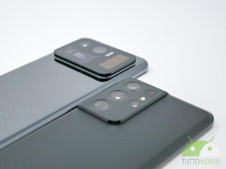 Samsung galaxy s21ultra camera xiaomi mi11ultra