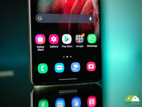 Samsung galaxy s21ultra display