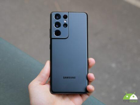 Samsung galaxy s21ultra posterioriore