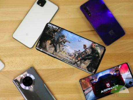 Smartphone gaming vari