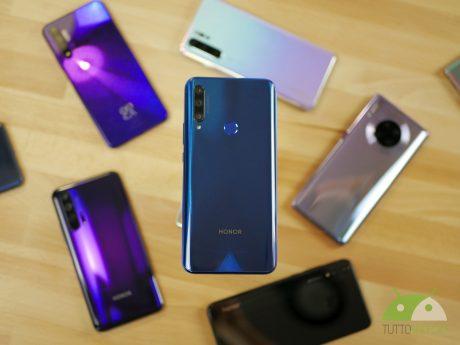 Smartphone huawei honor