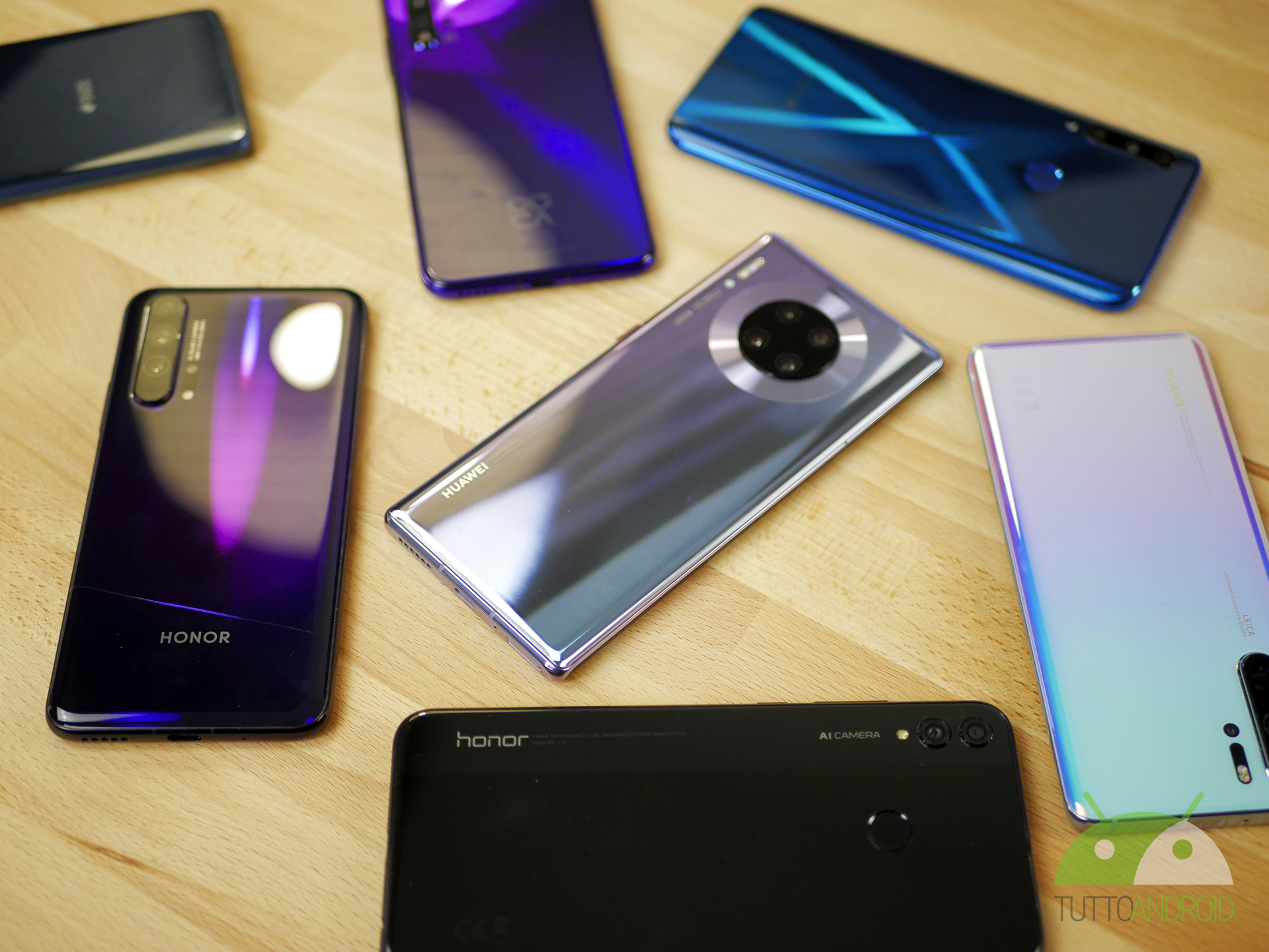 EMUI 10.1 raggiunge altri 36 dispositivi Huawei e HONOR, per