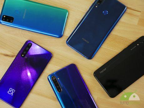 smartphone vari economici