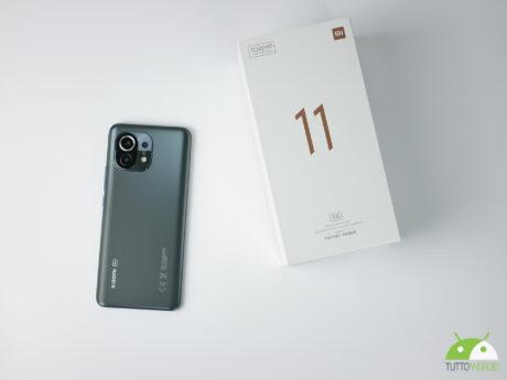 Xiaomi mi11 5g retro scatola