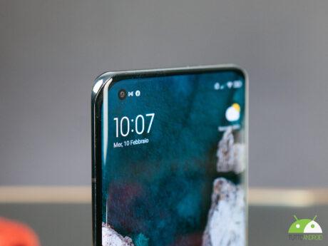 Xiaomi mi11 fotocamera frontale